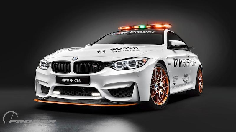 bmw m4 gts化身2016 dtm safety car